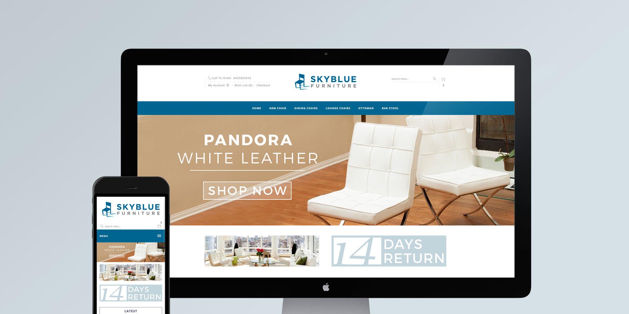crea un sito e commerce per negozi di arredamento